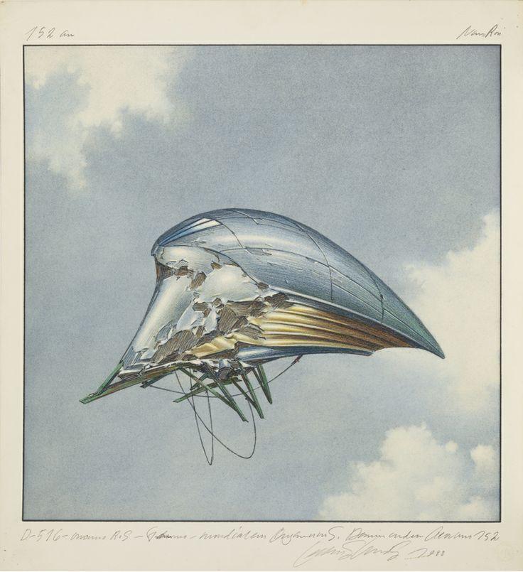 """Centricity Aero"" by Lebbeus Woods."