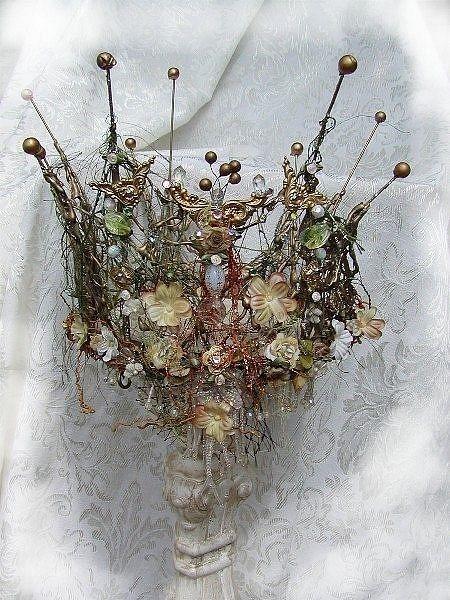Flower crown  - #wedding #flowercrown spotted on pinterest by the wedding venue team at www.huntshamcourt.co.uk