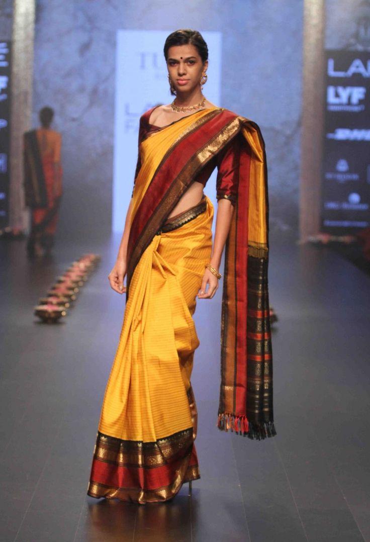 Tulsi Silks amazing Kanchivaram collections by desginer Santosh Parekh was showcased in Lakme Fashion Week and was well appreciated.    Kanjivaram Silk Saree, Kanjivaram Silk saree review, Kanjivaram Silk saree price, Kanjivaram Silk saree offers, Kanjivaram Silk saree store, buy Kanjivaram Silk saree, tikli.in, tikliwali, tikli fashion, tikli blog, tikli fashion blog, tikli shopping destination, tikli event, tikli.in collections