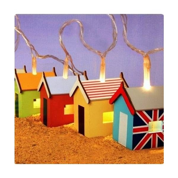 For those who love the beach or just want to add a nautical finish to your childs bedroom or playroom, this beautiful set of string lights are a must have. Eac…