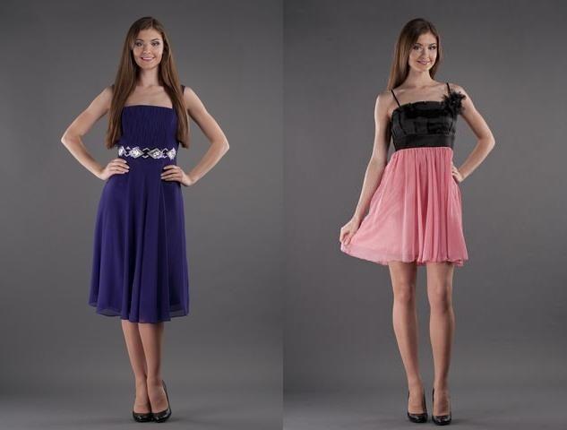 Платье на широкие плечи и узкие бедра