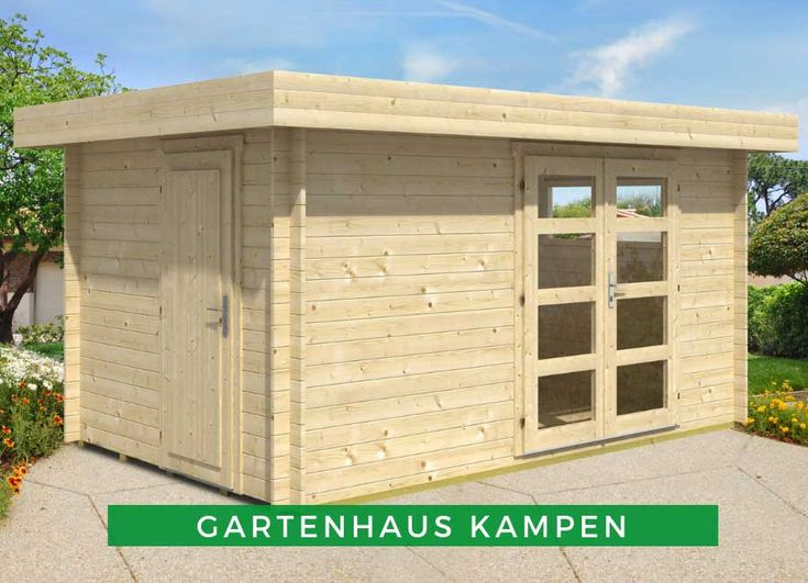 2Raum Gartenhaus Kampen Gartenhaus, Gartenhaus gmbh