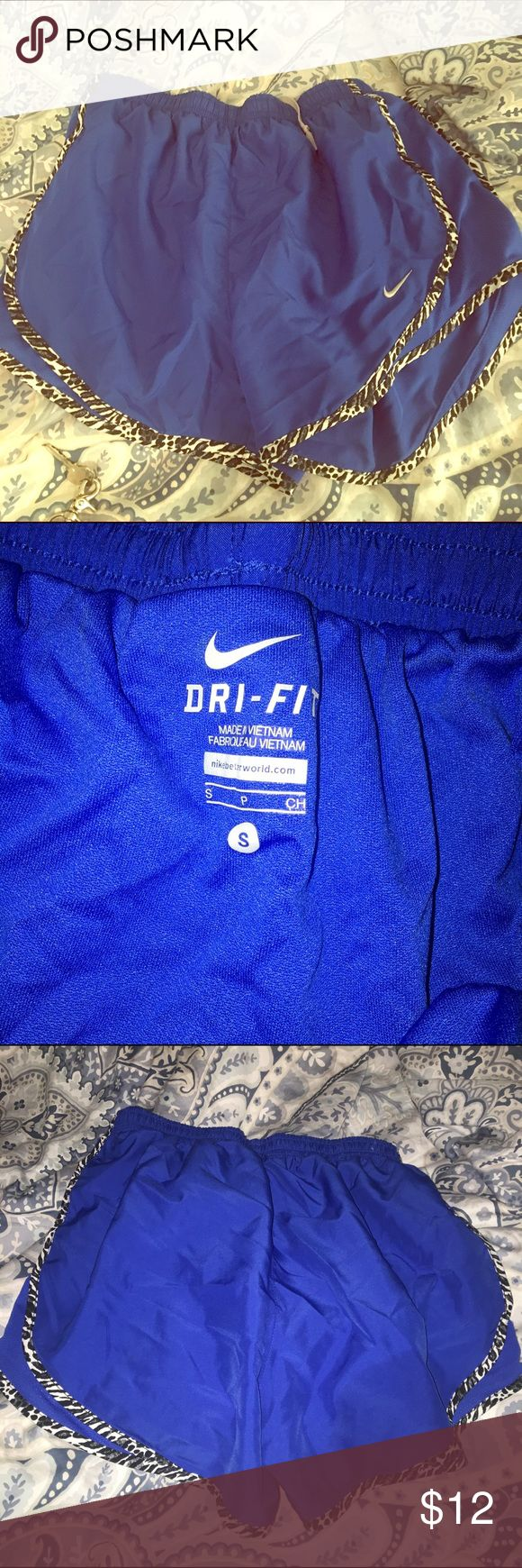 Women's Nike Tempo shorts size Small, Royal Blue Women's Nike Tempo shorts size Small, Royal Blue, worn once! Perfect condition Nike Shorts