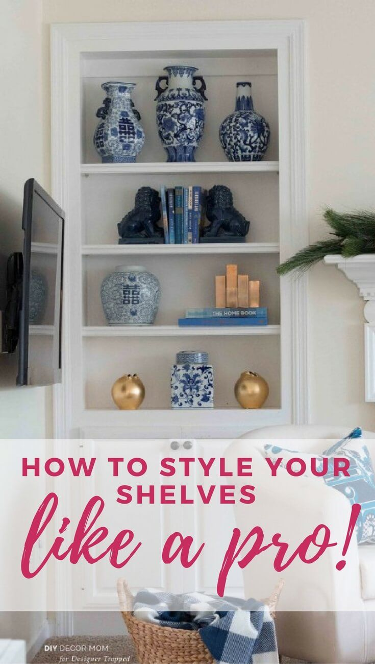 How to Style Open Storage The Easy