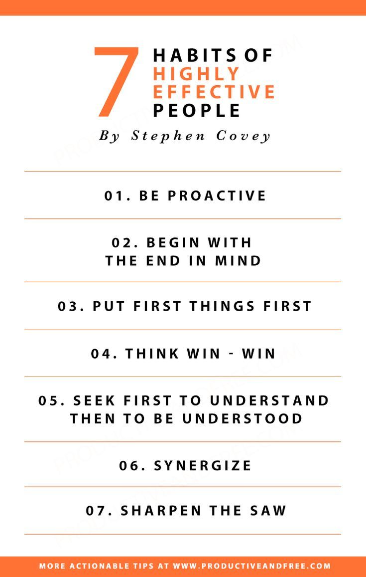 3 Takeaways From The 7 Habits Of Highly Effective People By