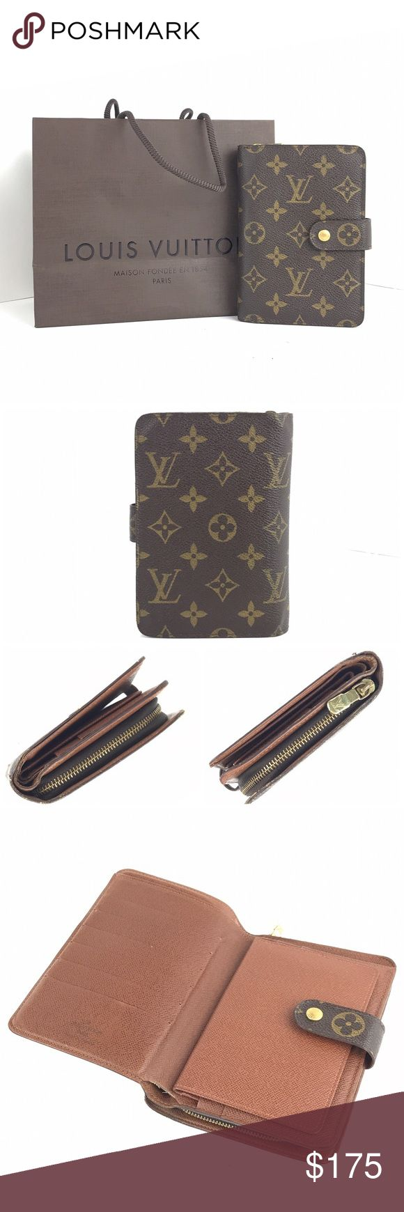 Louis Vuitton Monogram Zip Compact Louis Vuitton Monogram Zip Compact ________________________________ Item Description Made in [France] ~ Date Code [SP0010] Material [PVC/Leather] ~ Color [Monogram] _____________________________ Condition Outside [Excellent] Scratches, stains and edge wear - - - - - - - - Inside [Good] Scratches and stains, rubbing marks, peeling (not sticky) and staining on plastic ID Louis Vuitton Accessories Key & Card Holders