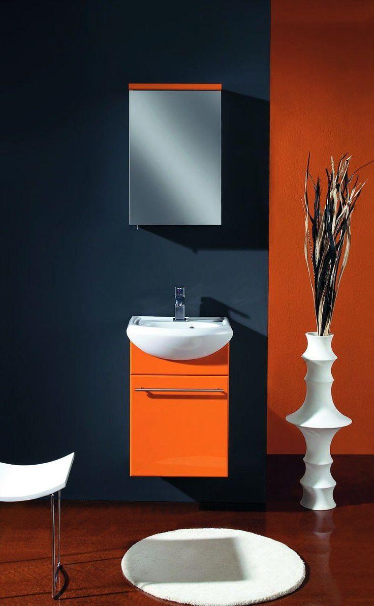 Best 20 Orange Modern Bathrooms Ideas On Pinterest Diy Orange Bathrooms O
