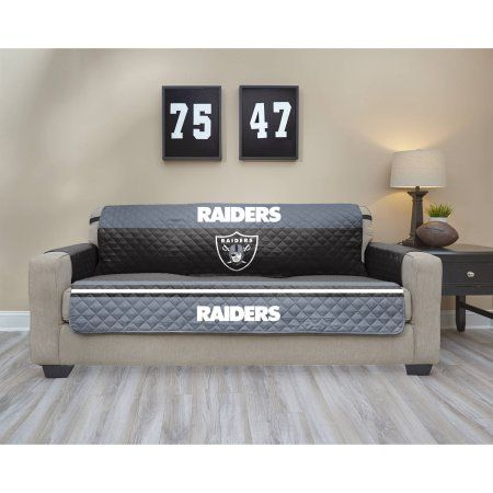 NFL Licensed TPU Lamination Waterproof Furniture Protector, Sofa, Oakland  Raiders