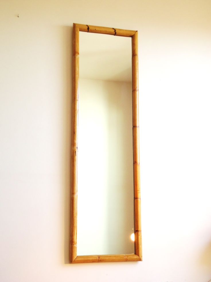 Espejo bamb para ver m s fotos al detalle descripci n y for Pared de espejo precio