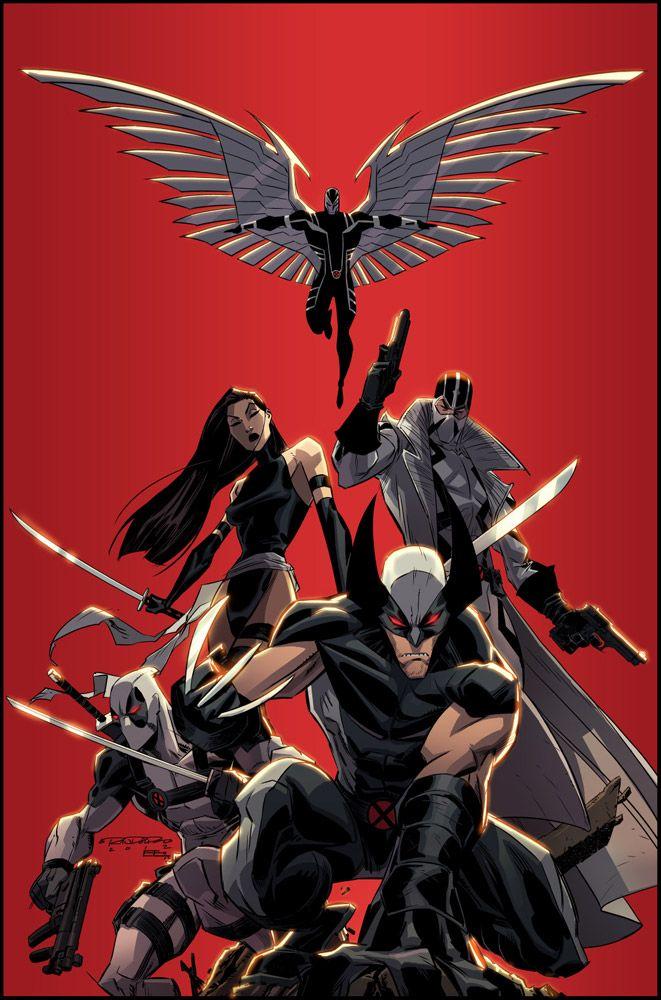 Uncanny X-Force    Art by Khary Randolph and Emilio J. Lopez