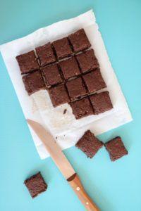 leckere Brownies sind immer sehr beliebt ...