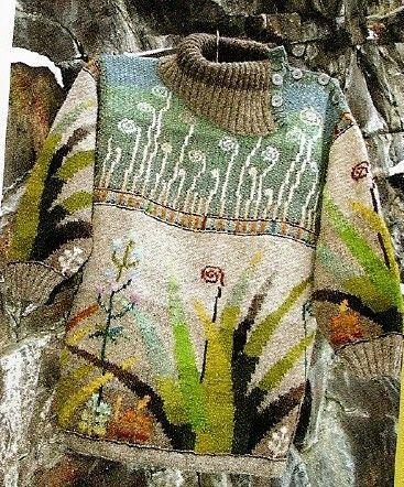 Modern sweater - sweet photo