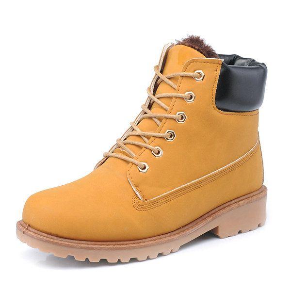 O novo tornozelo de homens botas curtas thicking guarda a moda de pelúcia quente botas de inverno sapatos chatos cotidianos