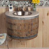 """Found it at Wayfair - Vintner's Bordeaux 24"""" Single Wall Mount Bathroom Vanity"""