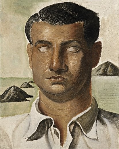 Portrait of Jorge de Castro 1934 by Candido Portinari