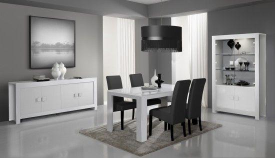 Salle à manger design complète Alba sur http://www.matelpro.com/