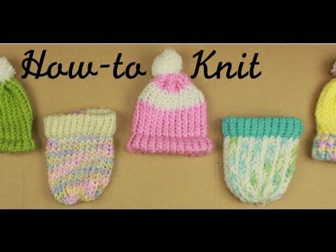 How to Knit on a Loom (Knitting your first hat)