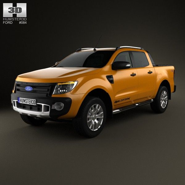 Ford Ranger Wildtrak made by humster3d.  For us Ford Ranger looked a little bit different among others and definitely planted a feeling of force.  January'13