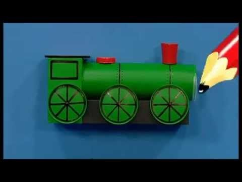 Art Attack - How To Make A Storage Truck!! - Disney India (Official) - YouTube