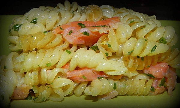 pâtes au saumon (au cookéo) - cuisinesab.overblog.com