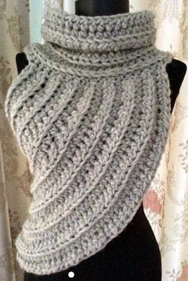 INSPIRATION - Cowl, Shawl, Poncho, Vest, Scarf, Dickie, Turtleneck, Shrug, Capelet
