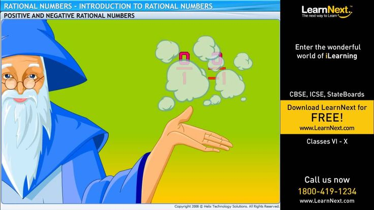 Rational Numbers - Introduction to Rational Numbers - Maths - Class 7