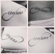 cousins tattoo - Google Search