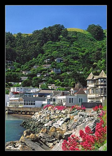 Sausalito, California  - a place I would visit when I lived in Novato. Born in San Diego, Grew up in Novato California.