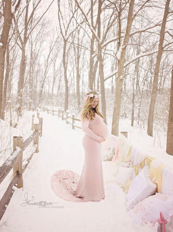 Coralie Metallic Gold Rose Maternity Dress - Silk Fairies