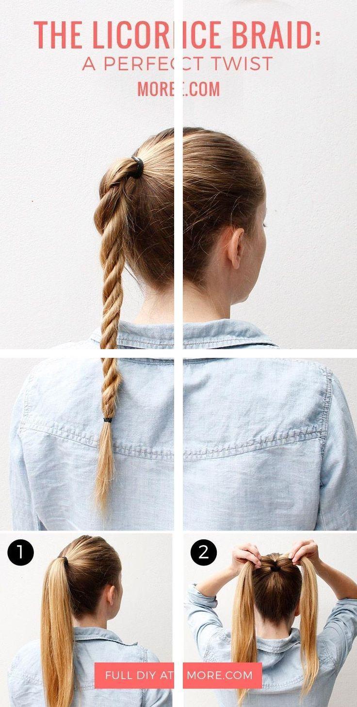 Mittlere Frisuren | Party Hochsteckfrisuren für langes Haar | Formale Brötchen Hochsteckfrisur