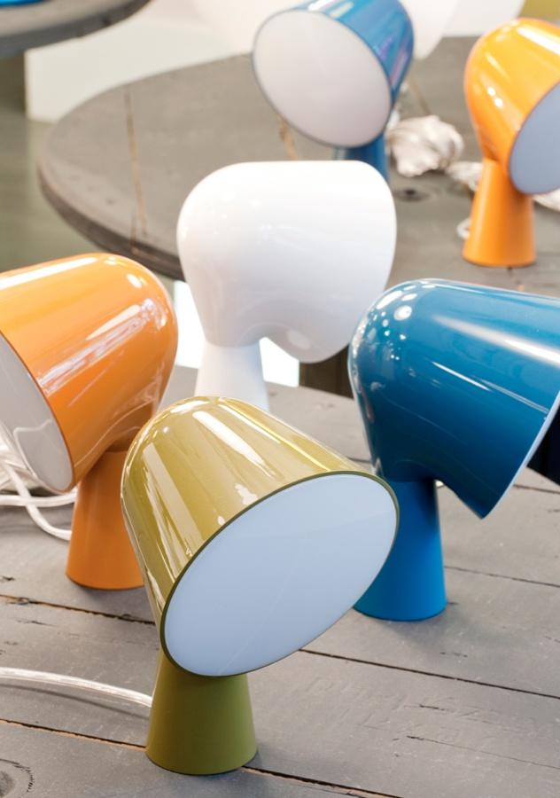 lampes Binic de Ionna Vautrin pour Foscarini  #blue #orange #design  © PJ Verger