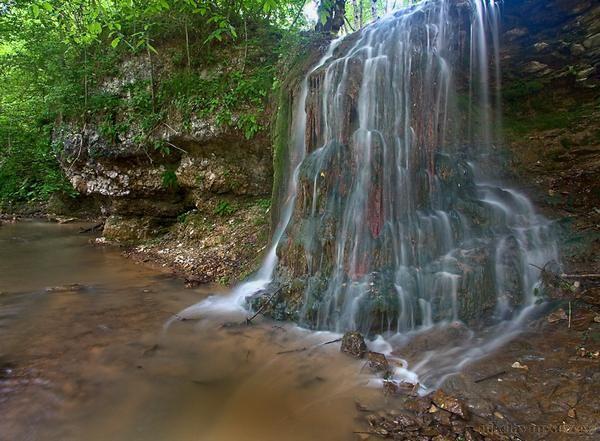 Водопады хутора Кизинка