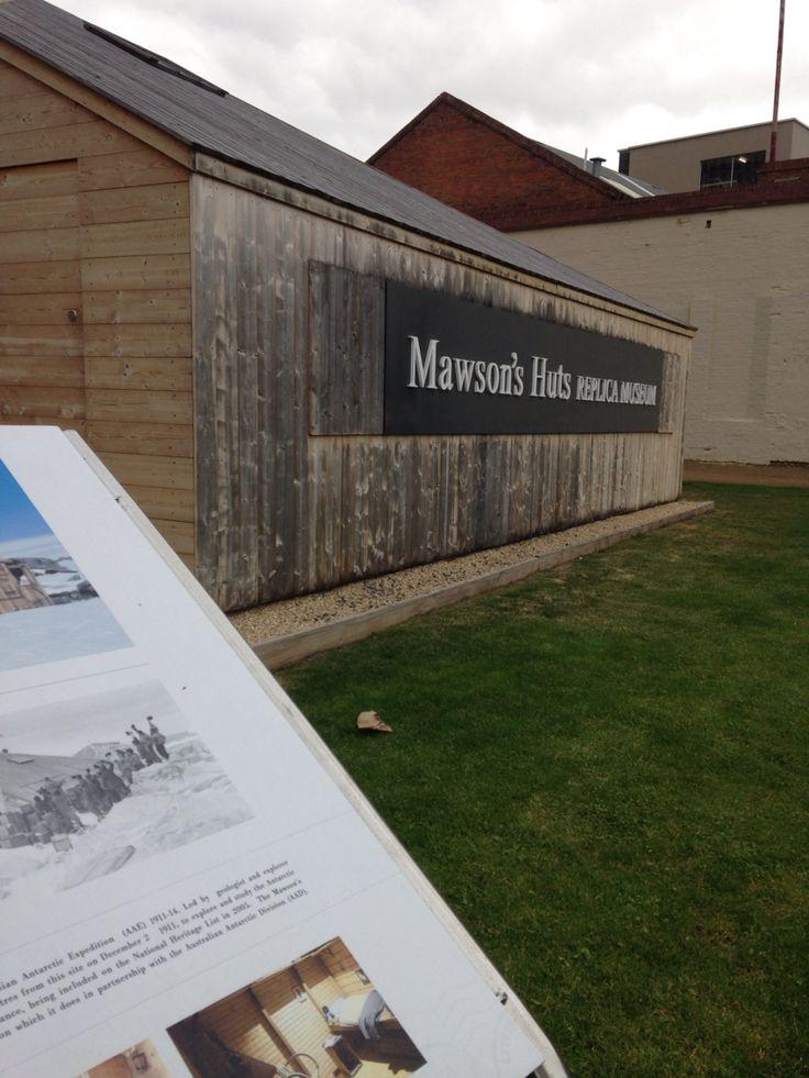 Mawson Huts replica museum Hobart