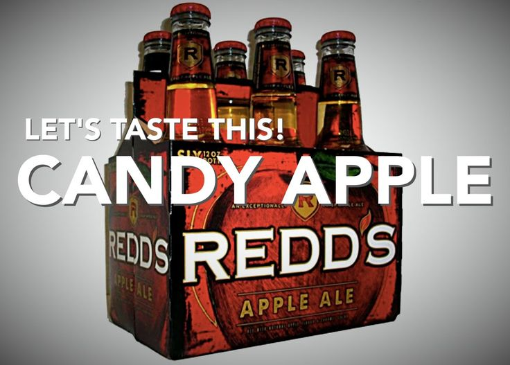 Charge up your Beer! - Redd's Apple Ale and Smirnoff Kissed Caramel - Le...