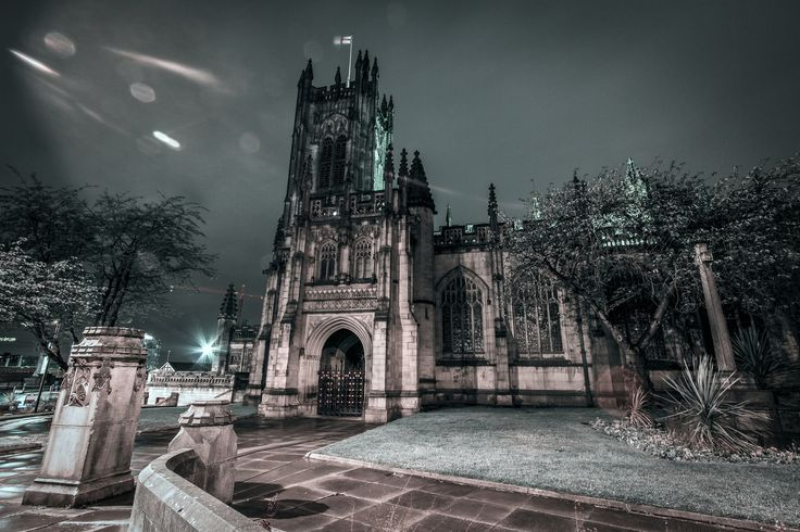 cathedral night side by Dan Dangler on 500px
