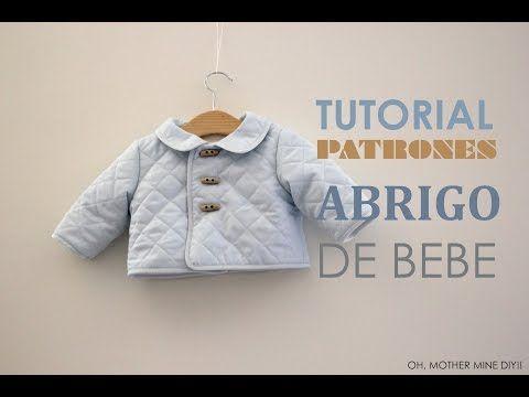 DIY Tutorial: Abrigo de bebé acolchado (patrones gratis) | Manualidades