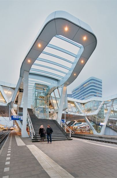 Leibal: Arnhem Central Station by UNStudio