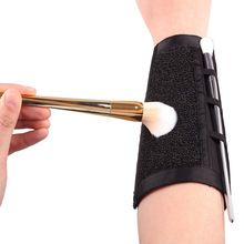 1Pcs Arm Makeup Sponge Cleaner Brush Cleaning Sponge Makeup Color Clean Eyeshadow Sponge Tool Makeup Brush Color Switch #83530(China (Mainland))