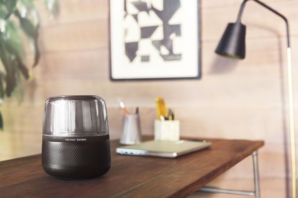 The Harman Kardon Allure is a 360-Degree Speaker with Amazon Alexa - Learn so much more about this amazing Device on The Notice Centre