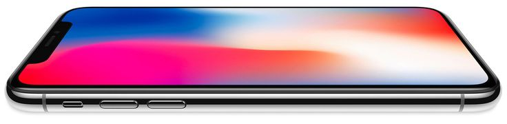iPhone X support document discusses Super Retina OLED screen off-angle viewing, image persistence
