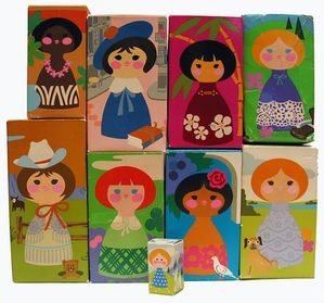 Avon It's a Small World Products from the 70s.... so awesome!