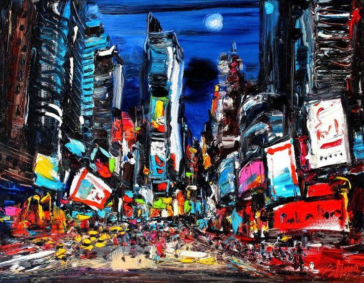 Zhu Hong: Night Time Square, 2015, Oil on Canvas, 70 x 4.7 x 90 . The colours employed are usually vibrant and arresting, and they reflect keenly the lively tropical atmosphere of Hong Kong. By injecting such an unconventional and localised twist into what is supposedly one of the most traditional and timeless mediums in the Western art world, Zhu Hong paints like no other, and his works inspire us to observe familiar scenes and objects with fresh eyes.