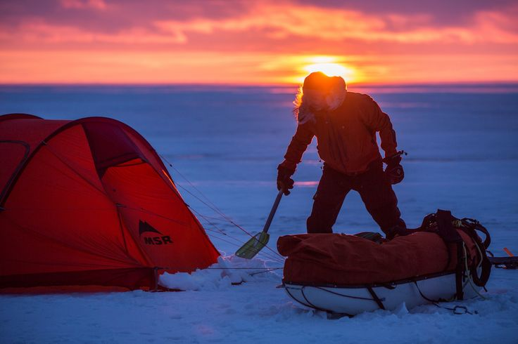 Explorer Eric Larsen's polar travel and winter survival class on Lake Winnipegwill have you prepared. Read about his past experiences as a guide.