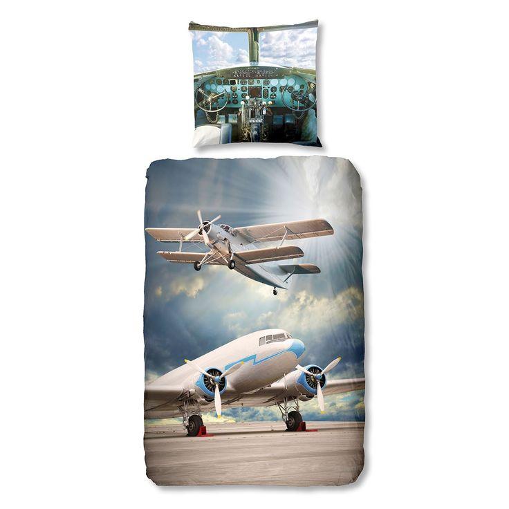 Good Morning Bettwäsche Airplanes online kaufen