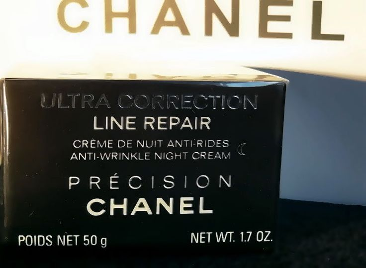 CHANEL ULTRA CORRECTION LINE REPAIR ANTI-WRINKLE NIGHT CREAM (50g/1.7oz) #CHANEL