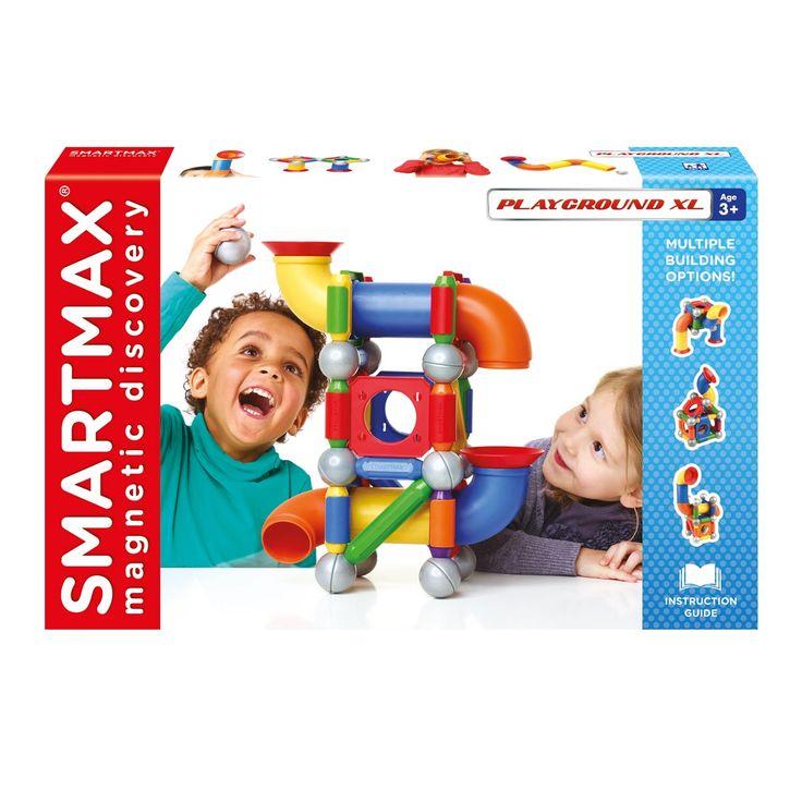 Ce jeu de construction magnétique Smartmax promet aux enfants un plaisir de jeu maximal et offre la possibilité d'explorer le monde…