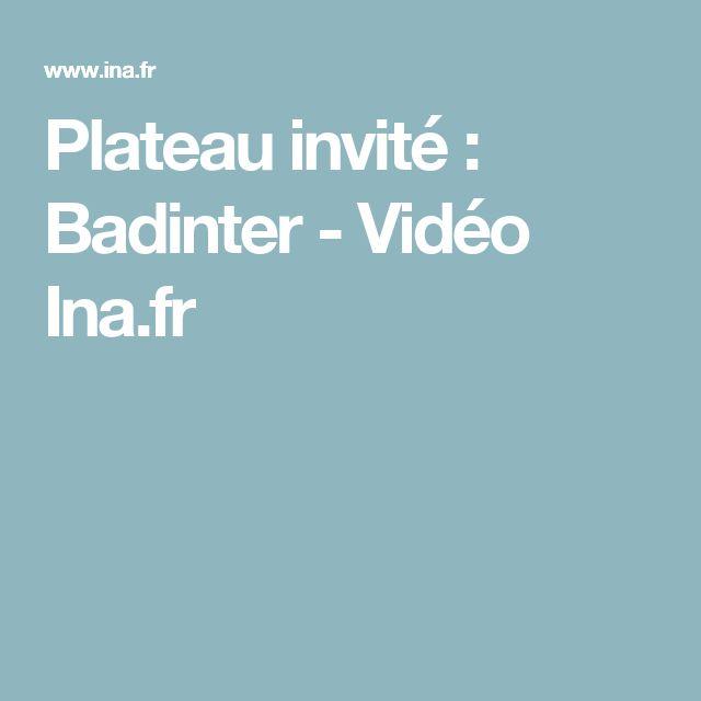 Badinter était invité sur le plateau du Journal de 20h de France 2 le 07/10/1995 pour parler de sa pièce de théâtre C.3.3
