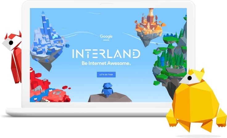 Be Internet Awesome is a multifaceted program that includes a fun and free web-based game called Interland and an educational curriculum to teach kids how to be safe and responsible explorers of the online world.