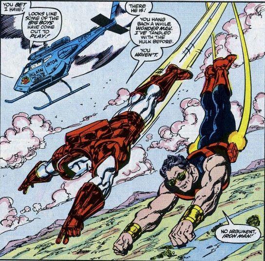 Iron Man and Wonder Man