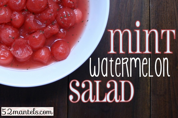 Mint-Watermelon Salad